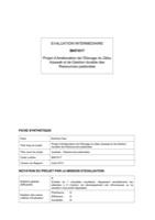 BKF/017 - Projet d'Amélioration de l'Élevage du Zébu Azawak et de Gestion durable des Ressources pastorales