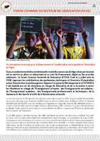 Fonds commun sectoriel de l'éducation - Présentation
