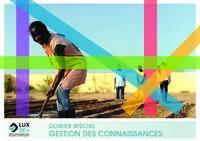 Dossier spécial du rapport annuel 2015 : Gestion des connaissances